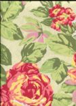 Galleria English Rose Paradise Wallpaper 1603/382 By Prestigious Wallcoverings